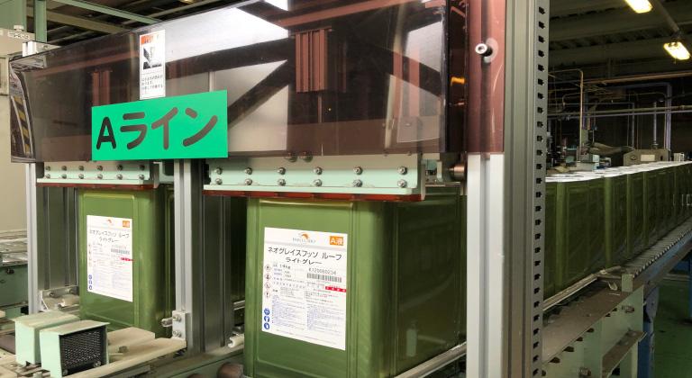 日本特殊塗料 製造過程