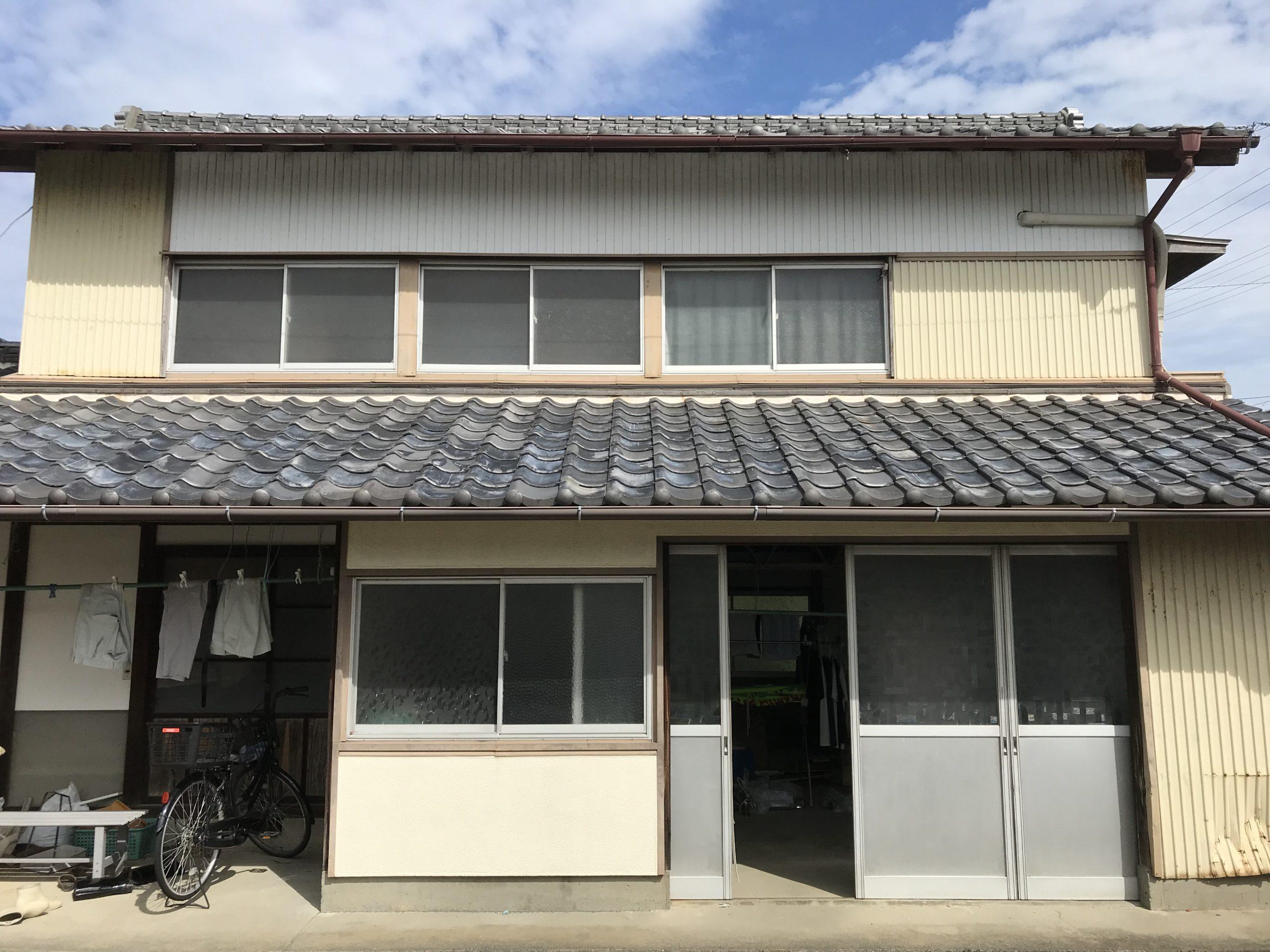 掛川市K様邸外壁塗装施工前